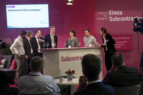 Framtidens smarta inköp diskuterades på Elmia Subcontractor