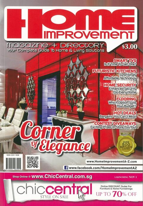 Evorich Flooring Featured on Home Improvement A-Z Magazine