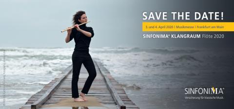Save the Date - SINFONIMA KLANGRAUM Flöte 2020