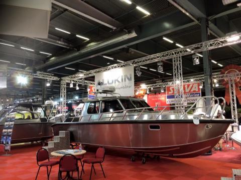 """Här visas """"Facebookbåten"""" - byggd på följarnas idéer!"""