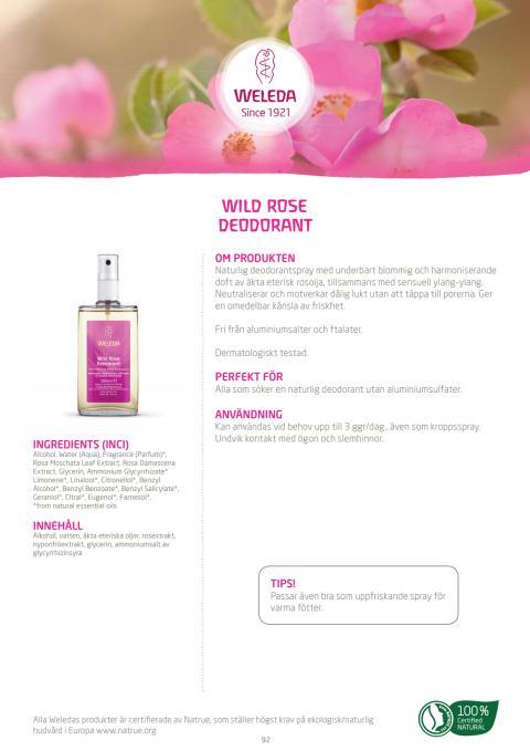 Wild Rose Deodorant