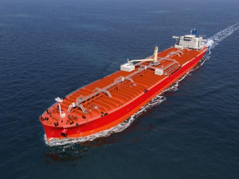 First LRI Product Chemical Tanker Built at its Shipyard in China