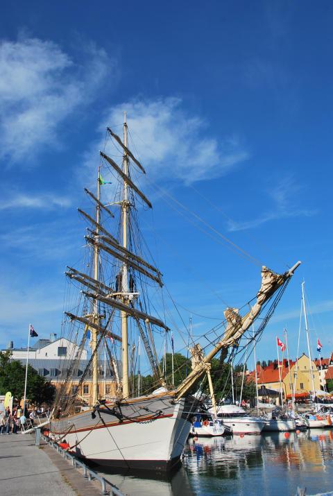 Briggen Tre Kronor och Initiativet Hållbara Hav i Almedalen