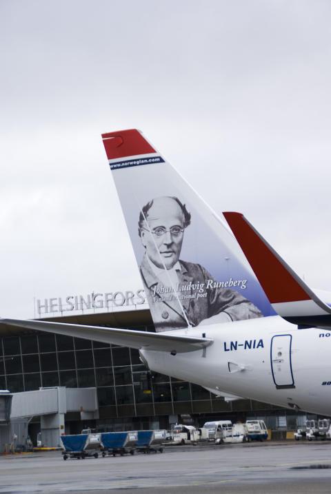Lakko Norjan lentokentillä vaikutti Norwegianin kesäkuun liikennelukuihin