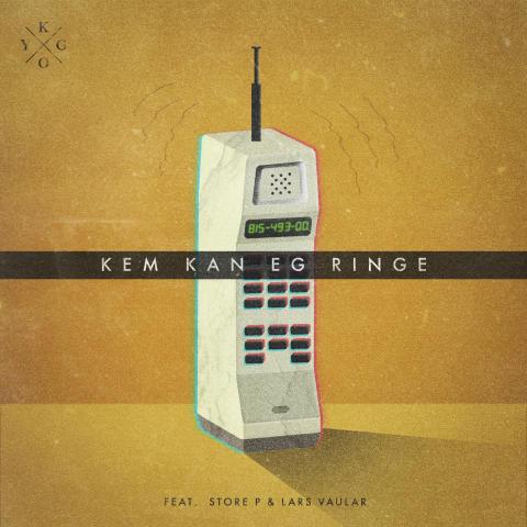 """""""Kem Kan Eg Ringe"""" singelomslag"""