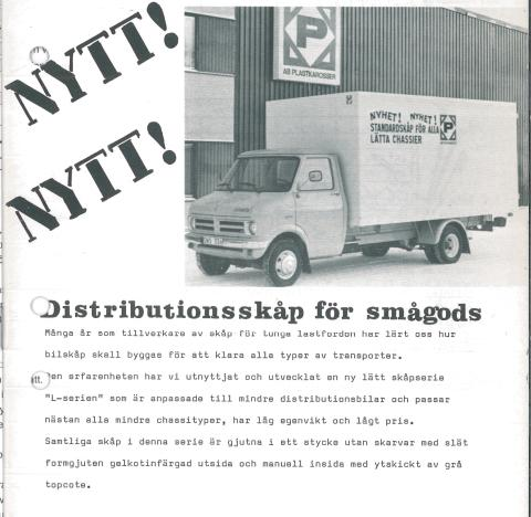 Berco - Lätta transportskåp sedan 1976