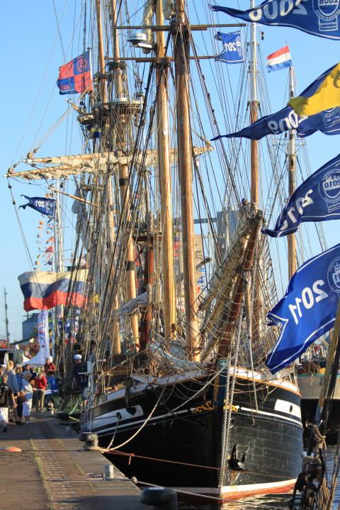 17 ungdomar från Halmstad kommer finnas med i besättningen under The Tall Ships Races