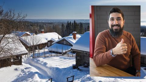 Lunchföreläsning: Bashar Mustafa – från flykting till säljchef på Morakniv