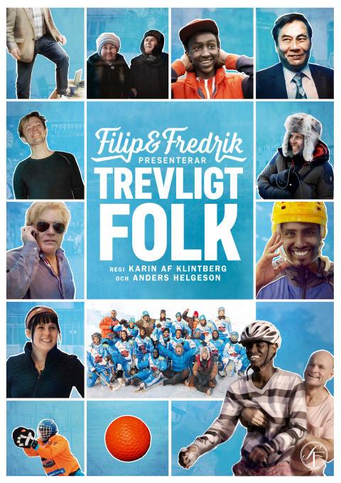 Filip och Fredrik presenterar trevligt folk