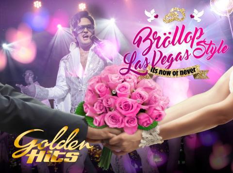 Nu kan man gifta sig i Las Vegas Style på Golden Hits!