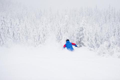 Över 135 cm nysnö i Åre, Sälen, Vemdalen, Trysil och Hemsedal