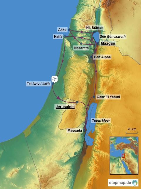 """AMONDO – die """"Reise der Besten"""" geht nach Israel"""