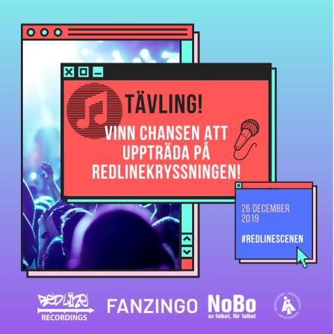 Fanzingo arrangerar musiktävling tillsammans med Redline Recordings!