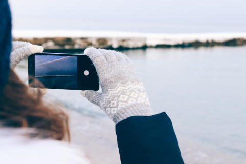 Tips der redder din mobil i kulden