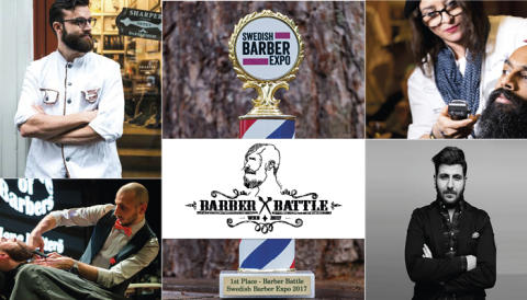 Swedish Barber Expo Barber Battle 2017