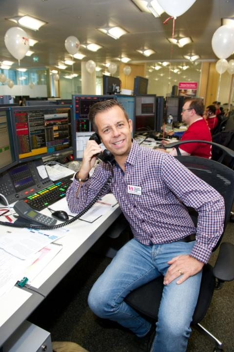Pat Sharp attends CIBC Miracle Day