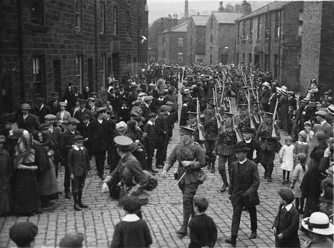 Poignant call to arms as residents urged to remember historic march