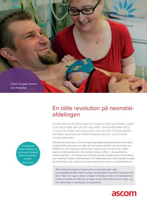 Case study - En stille revolution på neonatalafdelingen