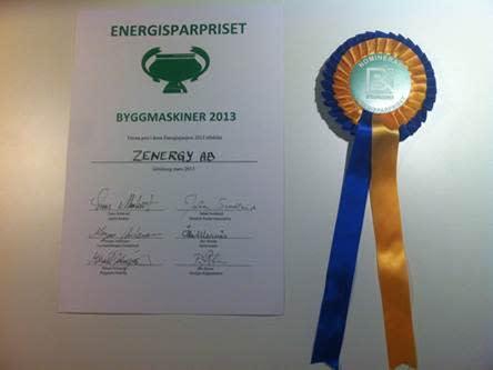 Årets Energisparpris 2013