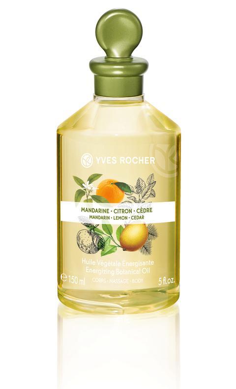 Mandarin Lemon Cedar Energizing Botanical Oil – Body & Massage