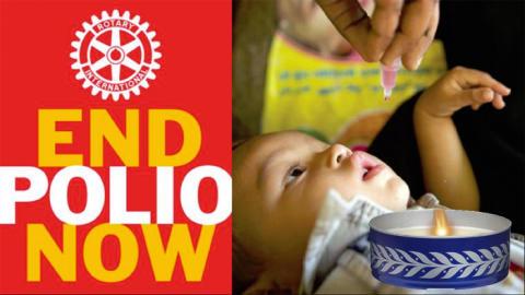 Rotary-marschaller lyser upp julkonsert i Lindesberg – och bidrar till att utrota polio