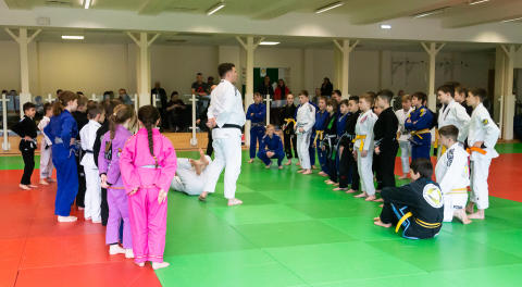 First UKBJJA Junior Development Day (photo ©Dan Minto)