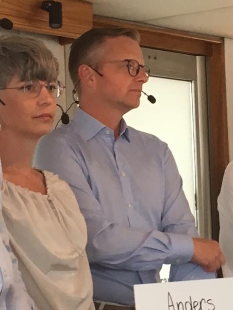 Petra Jenning och Mikael Damberg