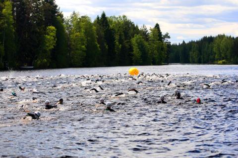 Vansbro Triathlon - simning
