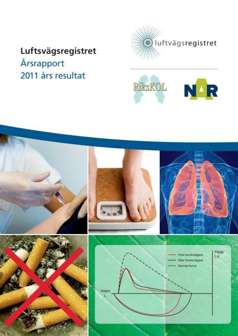 Nationella KOL-registret Luftvägsregistret/RiksKOL, Årsrapport 2011