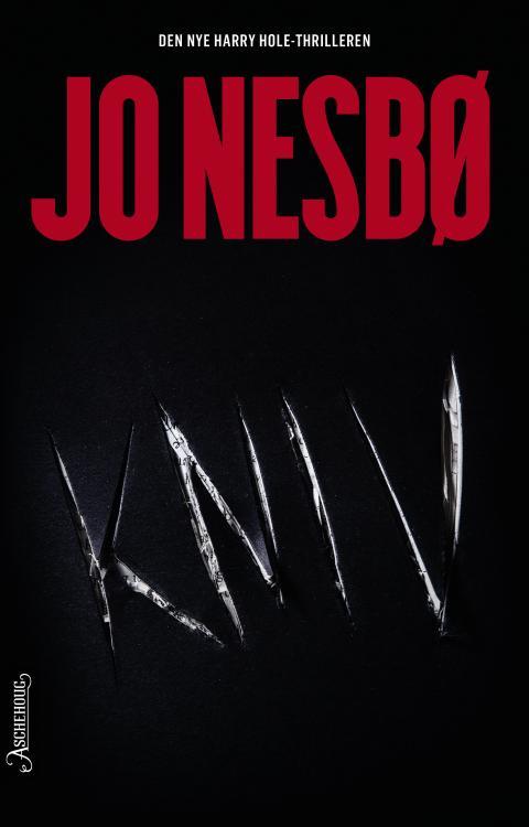 Lansering av KNIV - Ny bok av Jo Nesbø