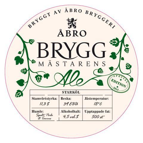 Åbro Bryggeri lanserar sitt första överjästa öl någonsin