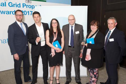 Mitie wins two awards at National Grid's Property Awards 2017