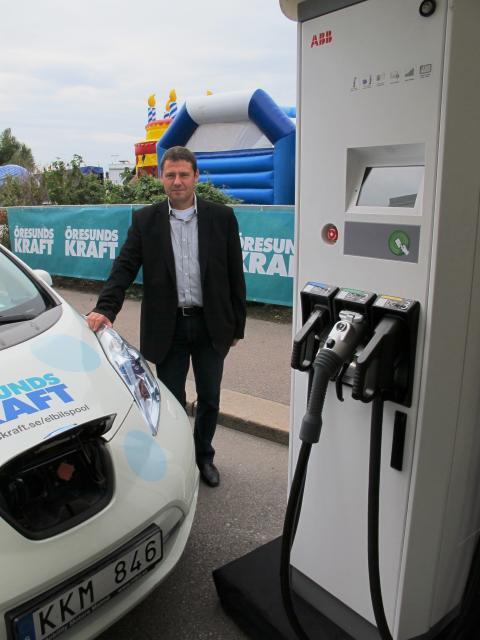 Öresundskraft storsatsar på elbilsladdning