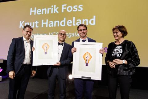 Årets entreprenørskapslærere fra Tryggheim videregående skole i Rogaland
