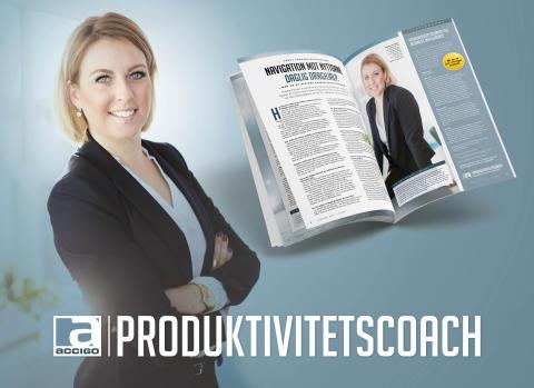 Accigo Produktivitetscoach – Stannar tills både ni och lösningen rullar!