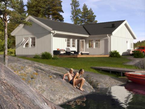 Älvsbyhus bibehåller ställningen som Sveriges största hustillverkare