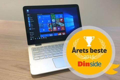HP Spectre X360 kåret til årets beste bærbare PC 2015 av DinSide.no