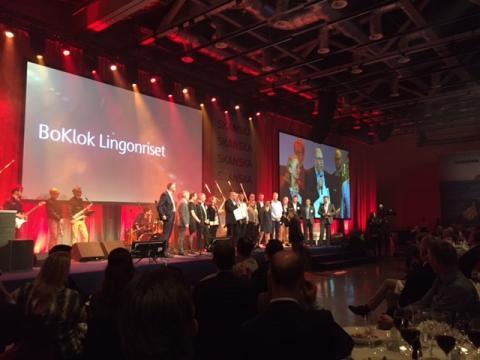 BoKlok Lingonriset i Huddinge - årets projekt 2015 i Skanska