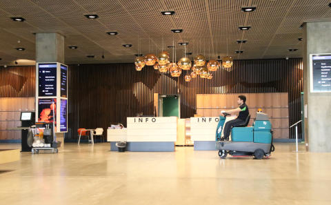 Forenede Service gør rent for kunder i hele Danmark