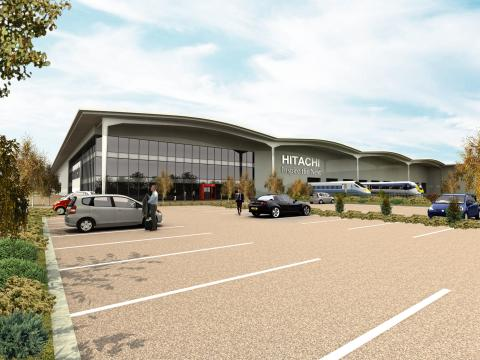 Hitachi's Rail Vehicle Manufacturing Facility in Newton Aycliffe