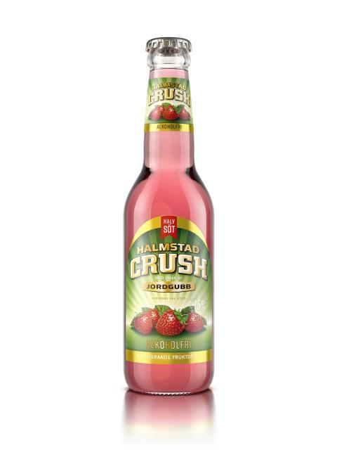 Halmstad Crush Jordgubb Alkoholfri