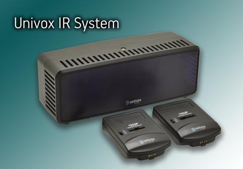 Univox lanserar IR-system och intercom-modul på ISE