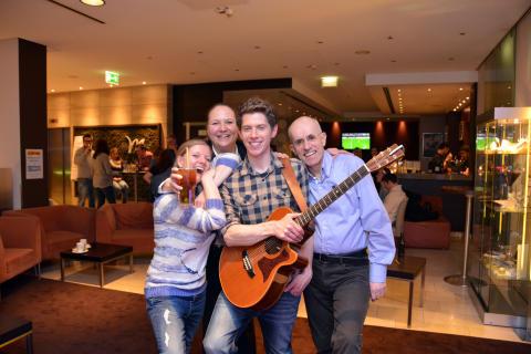 Erstes Sofa-Konzert im Mercure Hotel Hannover Mitte