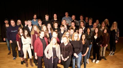 Kulturskolans elever ger kriminalmusikal på Vinterspår