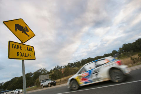 Latvala 2 Rally Australia