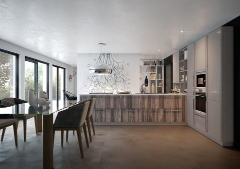 Schmidt køkken træ moderne
