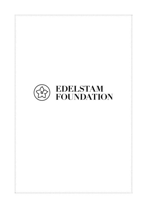 Brochure Edelstam Foundation
