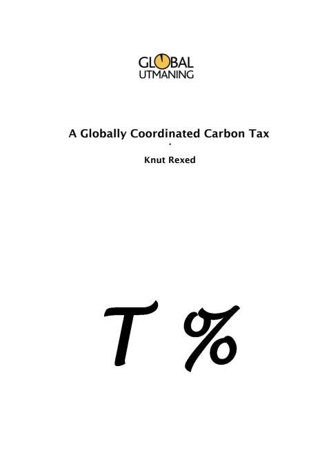 A globally coordinated CO2-tax