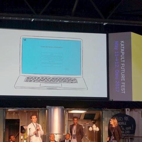 Kodiak Rating's Designer part of winning team at Katapult Hackathon