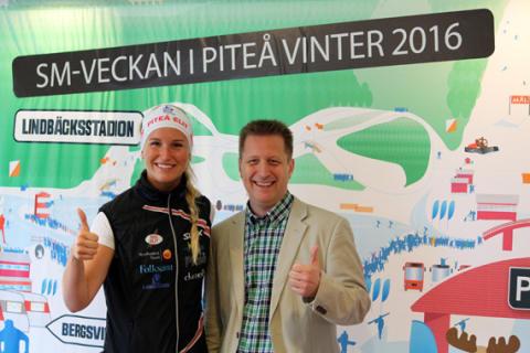 Piteå blir värdstad för SM-veckan 2016!